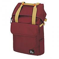 Рюкзак Herlitz be.bag be.flexible Ruby бордовий, фото 1