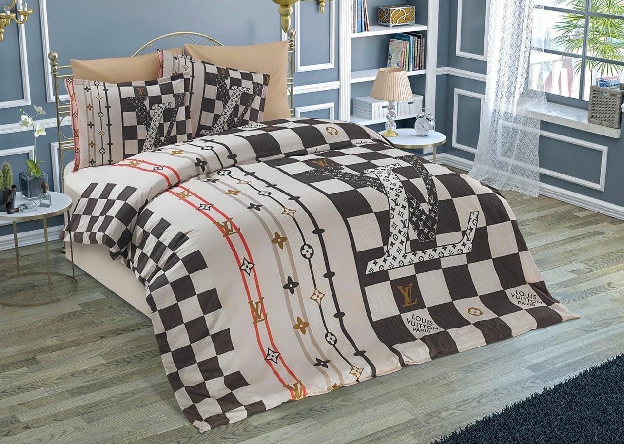 Двуспальное постельное белье хлопок (бренд)