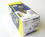 Тормозные колодки передние на Renault Trafic / Opel Vivaro (2001-2014) ICER (Испания) 141315701, фото 5