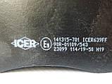 Тормозные колодки передние на Renault Trafic / Opel Vivaro (2001-2014) ICER (Испания) 141315701, фото 4