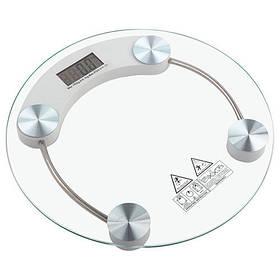 Весы Электронные Напольные Круглые Стеклянные до 180 кг D&T Smart DT 2003A