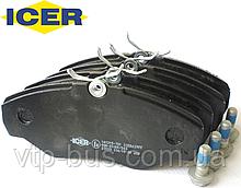 Тормозные колодки передние на Renault Trafic / Opel Vivaro (2001-2014) ICER (Испания) 141315701