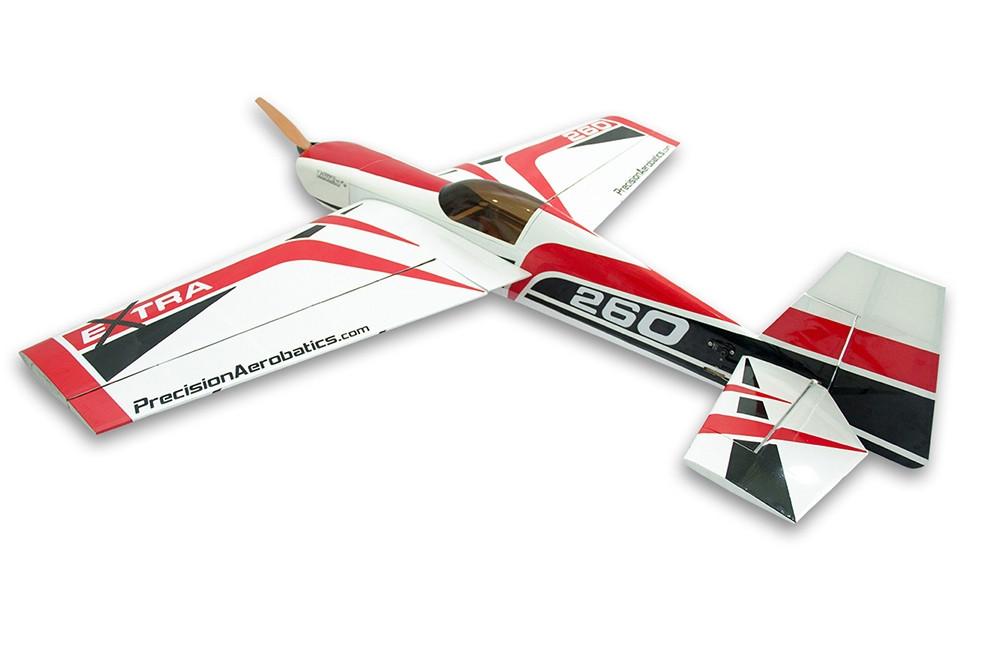 Самолёт р/у Precision Aerobatics Extra 260 1219мм KIT (красный)