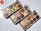 Палетка теней для век MERCI Diamond Eyeshadow матовые и перламутровые 10 цветов M-510 № 02 Серые/коричневые/фи, фото 4