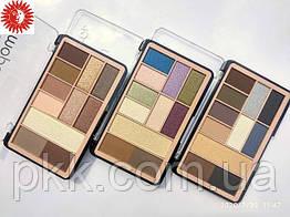 Палетка теней для век и бровей MERCI Eyeshadow Highlighter & Eyebrow Powder M-511 № № 01 Бежевые/коричневые/те