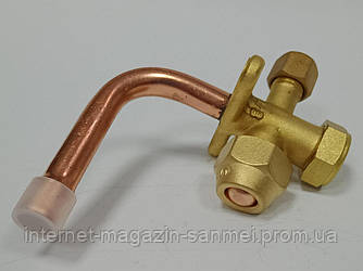 Сервісний клапан кутовий 90С 3/8 для кондиціонерів
