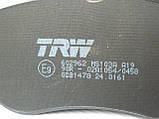 Гальмівні колодки передні Renault Trafic / Opel Vivaro / Nissan Primastar (2001-2014) TRW (Німеччина) GDB1478, фото 4