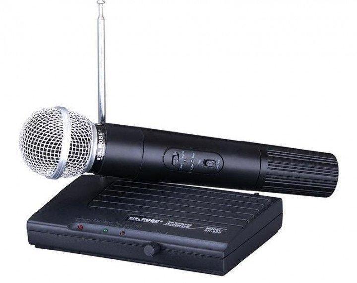 Радіосистема з ручним радіомікрофоном SM58 вокальний мікрофон Shure SH200