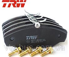 Тормозные колодки передние Renault Trafic / Opel Vivaro / Nissan Primastar (2001-2014) TRW (Германия) GDB1478