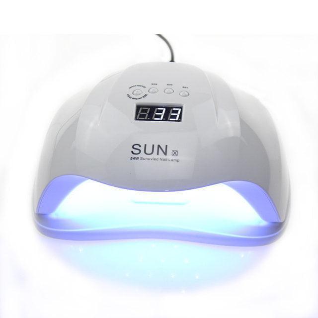 SUN X 54 ВТ. UV/LED ЛАМПА ДЛЯ ГЕЛЬ ЛАКА И ГЕЛЕЙ