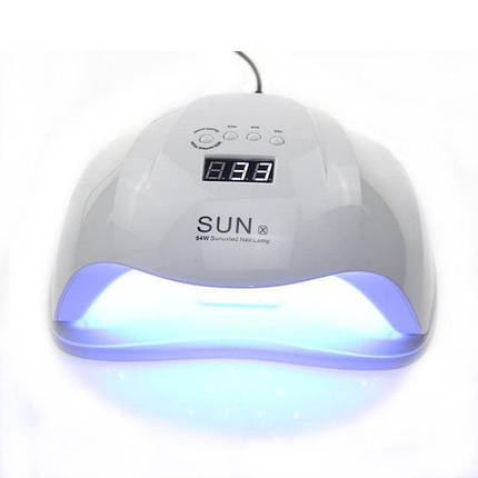 SUN X 54 ВТ. UV/LED ЛАМПА ДЛЯ ГЕЛЬ ЛАКА И ГЕЛЕЙ, фото 2