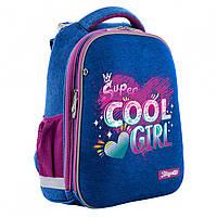 Ортопедический школьный рюкзак (ранец) для девочки, 1-5 класс, объем 17 л