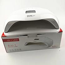 Sun X Plus 72 Вт UV/LED / лампа для гель лака и гелей (Сан X ), фото 2