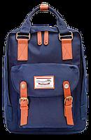 Женский городской рюкзак Doughnut Macaroon синий Код 11-0046
