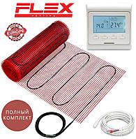 Теплый пол Flex EHM-175/ 7м² 1225Вт нагревательный мат с программируемым терморегулятором E51