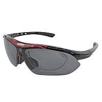 Солнцезащитные антибликовые очки Han-Wild 9303 Red поляризационные для вело спорта водителей сноуборда