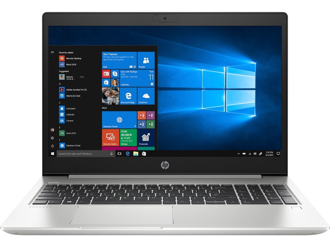 "Ноутбук HP ProBook 450 G7 (6YY21AV_V7); 15.6"" FullHD (1920х1080) IPS LED глянцевый антибликовый / Intel Core i5-10210U (1.6 - 4.2 ГГц) / RAM 8 ГБ /"