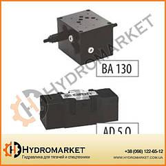 Электромагнитные клапана с электроуправлением NG 10 (СПЕЦИАЛЬНОЕ НАПРАВЛЕНИЕ) Hidroan