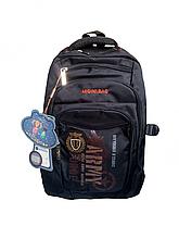 Рюкзак школьный черный для мальчика 089Z