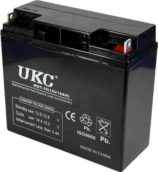 Аккумулятор Battery 12V 18A Ukс