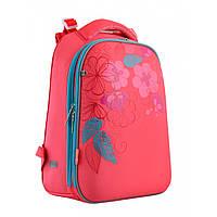Ортопедический школьный рюкзак (ранец) для девочки: для первоклассника и до 5 класса