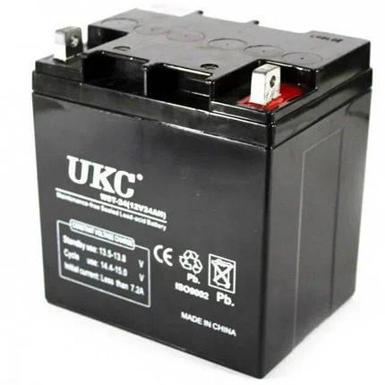 Аккумулятор Battery 12V 24A Ukс, фото 2