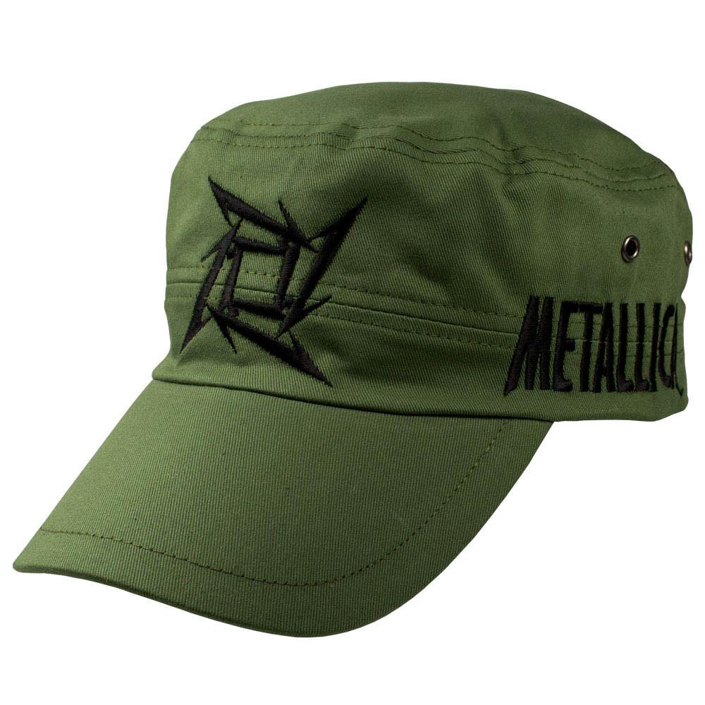 Кепка Metallica (олива)