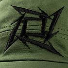 Кепка Metallica (олива), фото 2