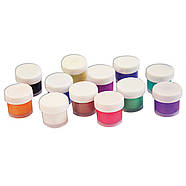 Краски акриловые перламутровые 12 цв. 15 мл 22С1412-08, фото 2
