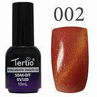 Гель-лак №002 CAT EYES (красный магнитный) 10 мл Tertio