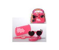 Набор аксессуаров HC120D-199D (72шт) сумка, очки, часы, ключи, 2цвета, на листе,25-24-5см(HC120D-199D)