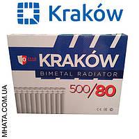 Биметаллический радиатор Krakow 500/80 Польша.оригинал, фото 1