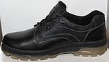 Туфли осенние на байке мужские кожаные от производителя модель ДР1116, фото 3