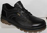 Туфли осенние на байке мужские кожаные от производителя модель ДР1116, фото 2