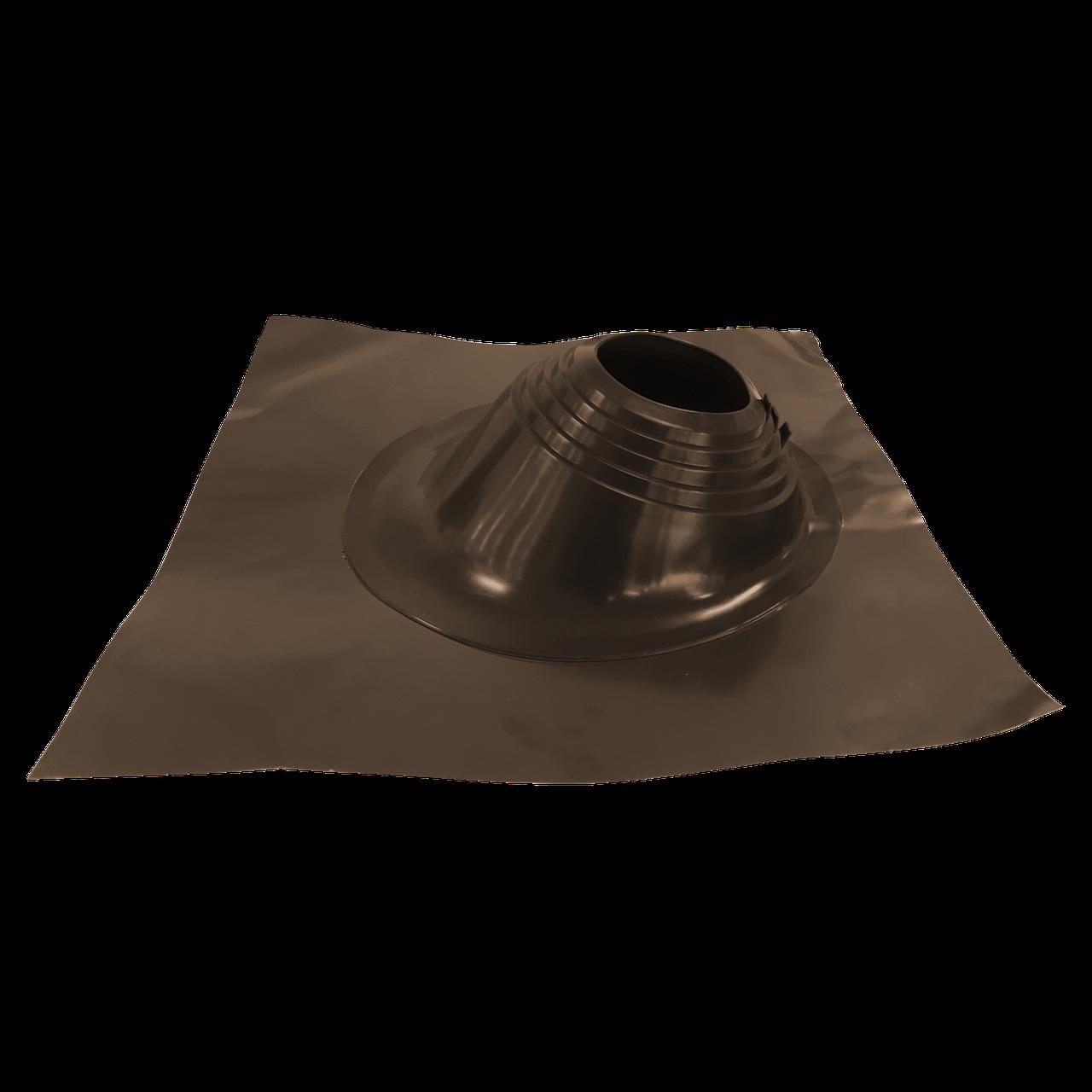 Кровельный проход Master Flash угловой коричневый (160-280 мм)