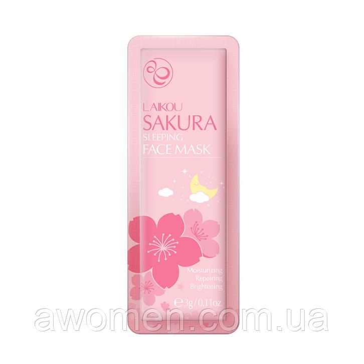 Ночная маска Laikou Sakura Sleeping с японской вишней 3 g