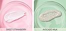 Скраб для лица и тела Laikou Skin (авокадо и клубника) 3g х 3g, фото 3