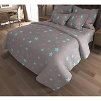 Детский комплект постельного белья «Звездное небо» Бязь Голд ZvezdnoeNebo-7351, Полуторный комплект
