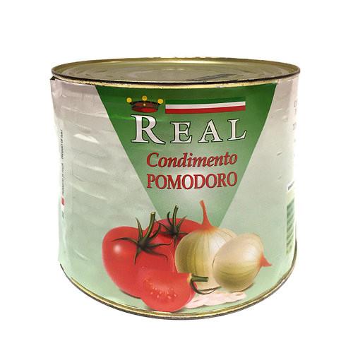 Помідори перетерті REAL Condimento Pomodoro, ж/б, нетто 2кг