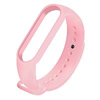Силиконовый розовый  ремешок  на фитнес трекер Xiaomi mi band 4 / 3 браслет аксессуар замена
