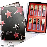 Набор Матовых Помад для губ Yves Saint Laurent Tatouage Couture Matte Stain, 8 шт