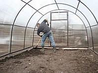 Работа в теплице весной: как правильно начать обработку