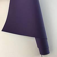 Шкірзамінник палітурний - матовий (ефект резини) - фіолетовий VH239 - 25х35 см