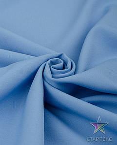 Ткань Габардин однотонный голубой