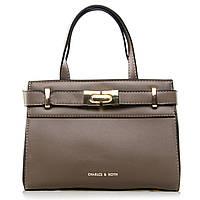 Женская сумка 8222 grey купить женские сумки оптом недорого в Украине, фото 1