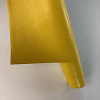 Шкірзамінник палітурний - матово-глянцевий - гірчичний VH235 - 25х35 см