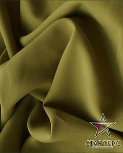 Ткань Габардин однотонный оливка