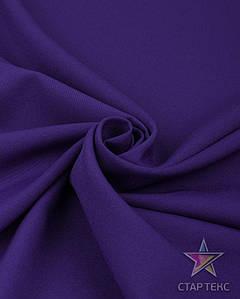 Ткань Габардин однотонный фиолетовый
