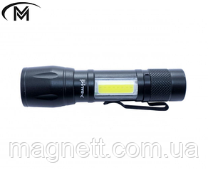 Яркий светодиодный карманный фонарик BL-AK39 Zoom