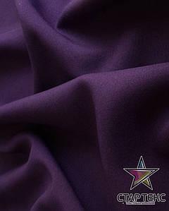 Ткань Габардин однотонный баклажан